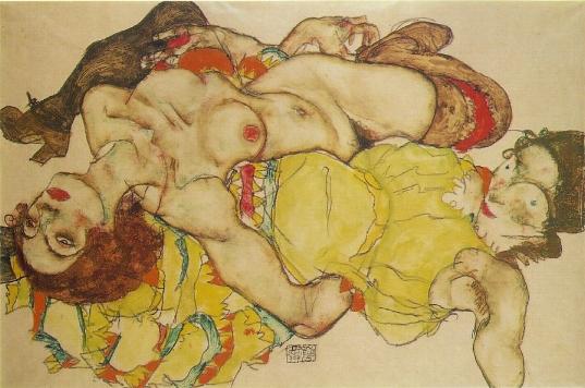 [Art] Peintures & autres oeuvres picturales Schiele_2women